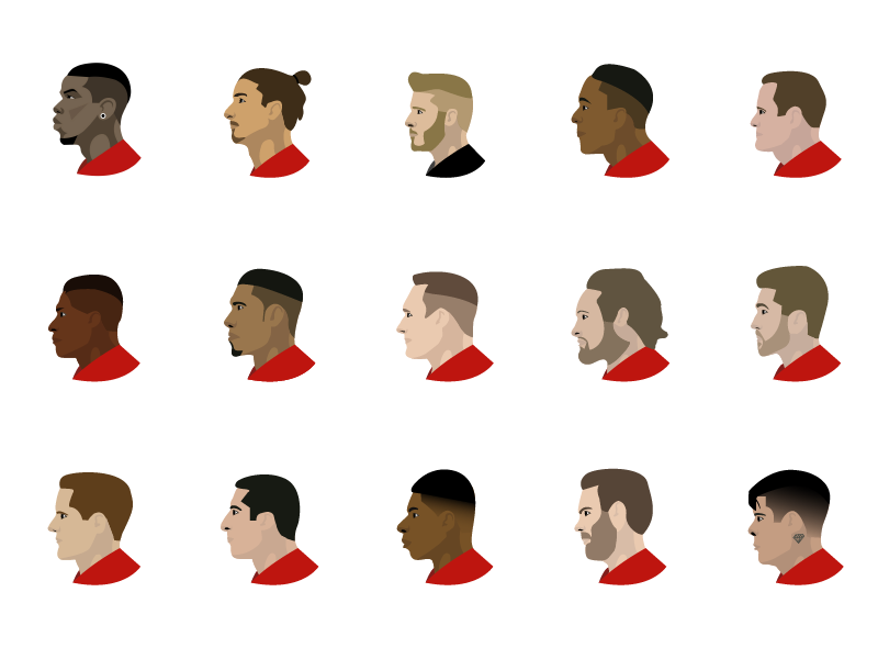Manchester United Emojis By Andrew Bolan On Dribbble