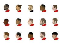 Manchester United Emojis