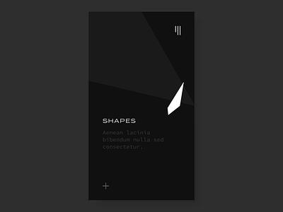 Shapeshifter mobile app design mobile animation ixd ui mobile ux design user interface user experience interaction design interaction