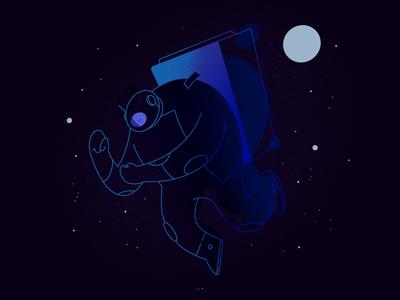 Chubby Astrounaut