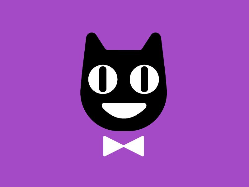 cool cat vector cat illustration