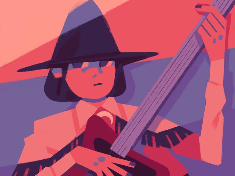 boy witch procreate illustration