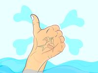 Last finger up