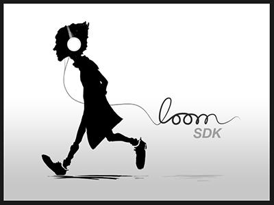 Loom Logo logo illustration sdk programming