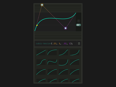 Cubic Bezier Tool