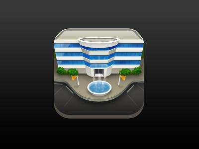 Real Estate Icon ios icon realestate building illustration