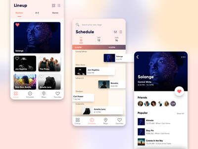 Daily Design Things - Eventapp ui design icon event event app uiux designs typography app ux mobile dailyui ui sketch minimal flat design vector
