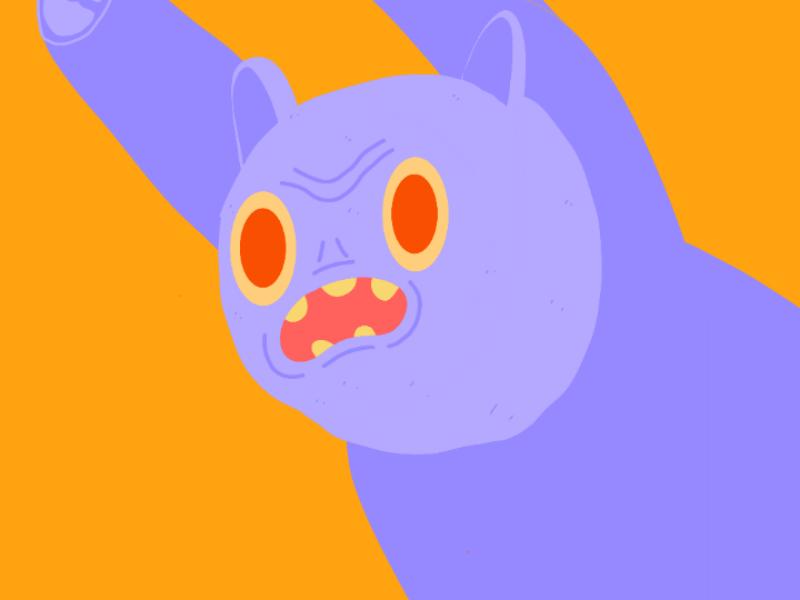 Frezze characters ilustracion palette color illustration