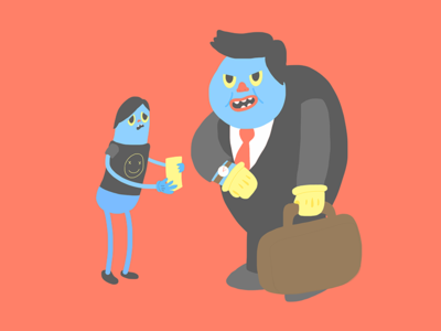 Dont Be Like Them contrast vector inspiration digitalart ilustracion style illustration color characters character