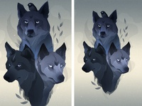 Them wolves