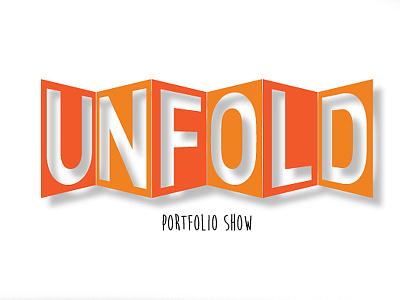 Unfold Show probono trickery logotype