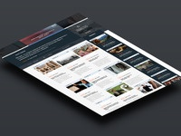 Tablet screens presentation mock up