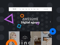 Hind Agency Dribbble