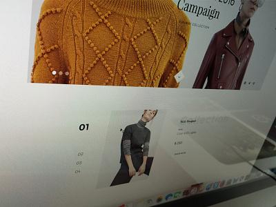 WIP Ecommerce agency ecommerce shop portfolio creative minimal ux ui onepage web design web