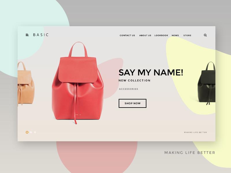 Ui Kit Slider Ecommerce uikit kit simple ux ui magazine blog webdesign web