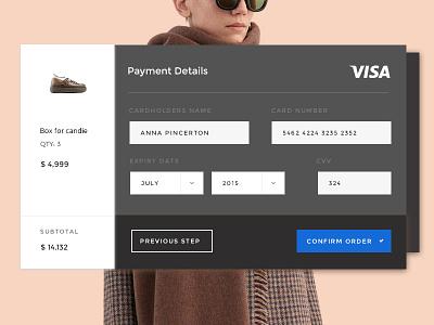 Payment Method payment uikit kit simple ux ui magazine blog webdesign web