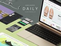 Daily UI Kit