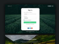 Daily UI Kit Forms