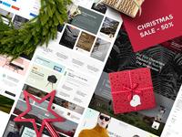 Christmas Sale - Daily UI Kit