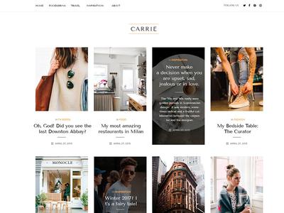 Carrie Inspiration Blog