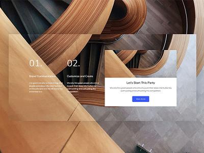 Barrel Ui wordpress minimal hero ux ui startup consulting business slider creative themeforest web