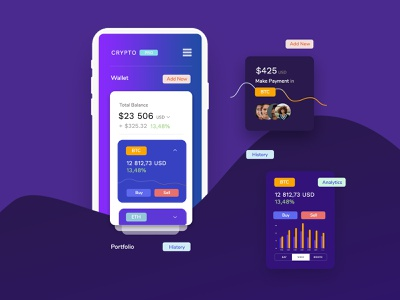 Crypto cryptocurrency bitcoins theme template app cryptoapp bitcoin crypto themeforest magazine landing wordpress corporate business minimal ux ui web