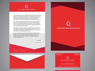 Company Mockup logo branding graphic design