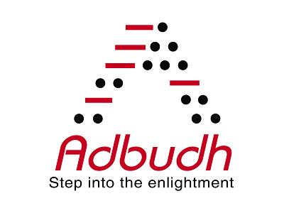 Adbudh Logo logo design typography logo