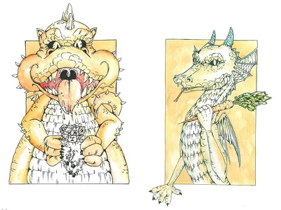 fat - slim  dragon slim fat