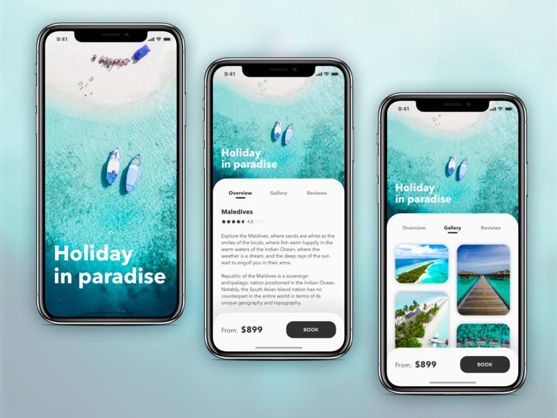 Destination Booking App destination booking mobile product design ux designs app design ui