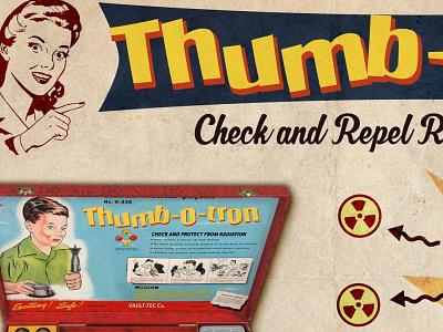 Fallout Radiation Check 2 fanart illustration photoshop fallout