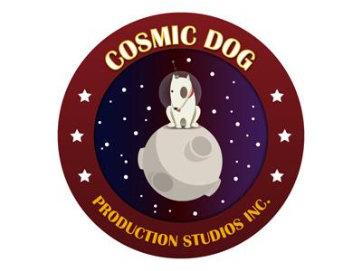Cosmic Logo logo design illustrator vector