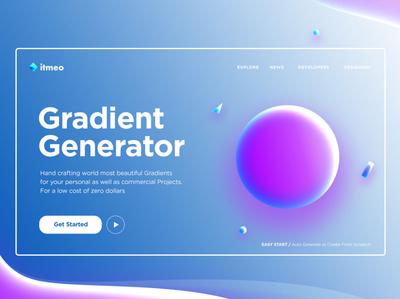 gradientui generaator