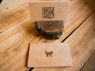Border Woodwrk Co. Business card