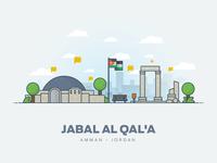 Jabal Al Qal A ( Amman Citadel )