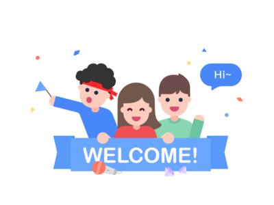 Welcome Illustrations