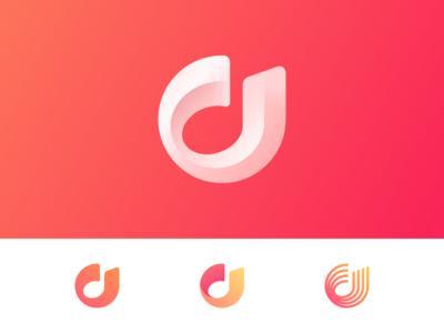 Music App logo concept