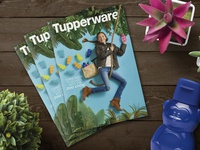 Tupperware July 2017 Brochure styling photography art direction layout indesign catalog publication brochure
