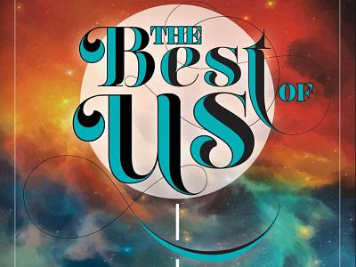 The Best of Us lettering design publication orlando magazine orlando editorial typography magazine