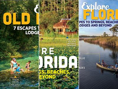 Orlando Magazine June Cover Comps travel florida indesign design publication editorial layout magazine orlando cover