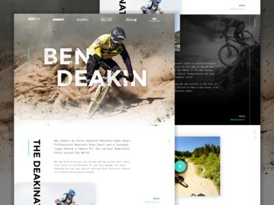 Ben Deakin MTB race bicycle adventure outdoors sport mountain bike mtb cycling ben deakin