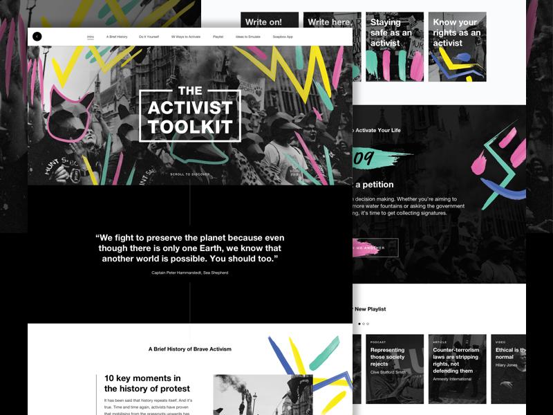 Lush | The Activist Toolkit toolkit activist groups charities hub cosmetics handmade fresh lush