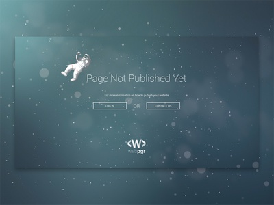 403_Webpgr astronaut space not found digital website ux ui web 404 403 pagenotpublished