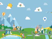 google Ukraine landscape