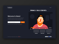 Early Access Landing Page