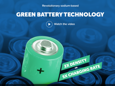 Making a website for battery technology company