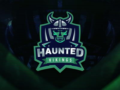 Haunted Vikings Logo