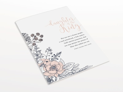 Ladies' Day Scripture Print
