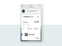 Instant Digital Ticket