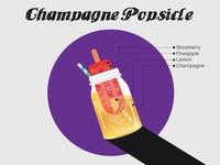 Champagne Popsicle Graphics